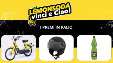 Lemonsoda: vinci e Ciao!