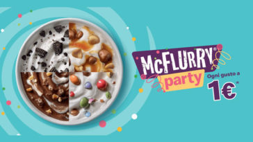 McFlurry 1 euro Mc Donald