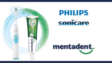 Mentadent: vinci spazzolino elettrico Philips Sonicare Daily Clean
