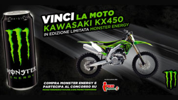 Monster Energy: vinci moto da cross Monster