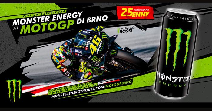 Monster Energy: vinci soggiorno al Brno del Moto GP