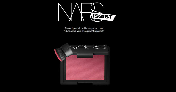 """NARSissist take all"" di Shiseido: partecipa gratis!"