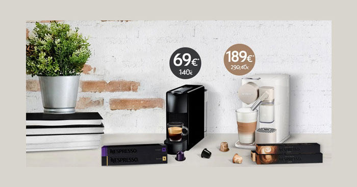 Nespresso Essenza mini o Lattissima