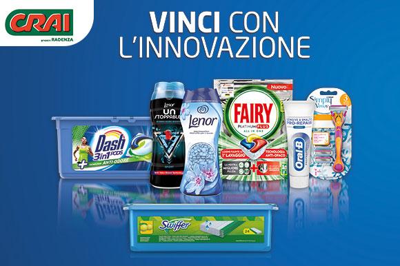 P&G: vinci con l'innovazione