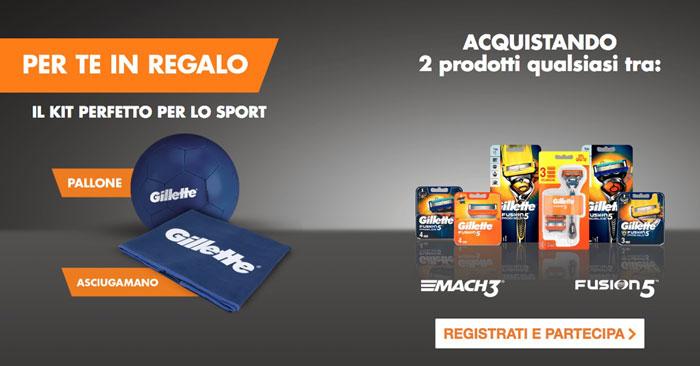 Premio certo Gillette Fusion kit sport