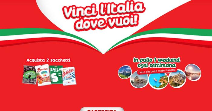 Sperlari: vinci l'Italia dove vuoi