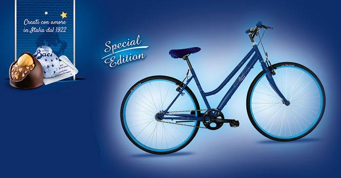 Vinci biciclette personalizzate Baci Perugina: come partecipare