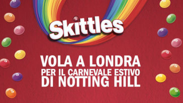 Vivi la musica con Skittles