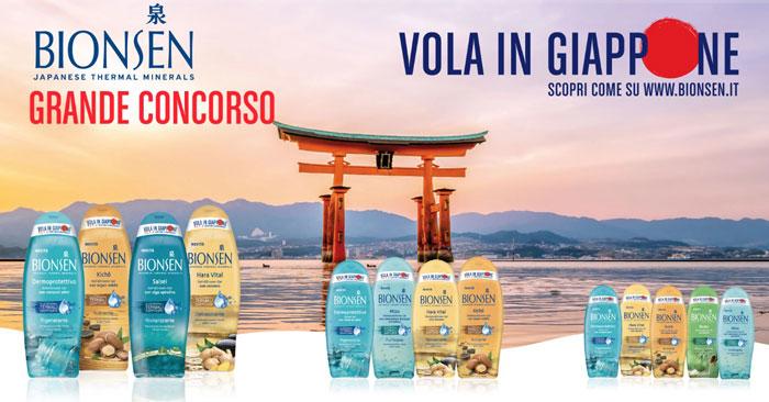 """""""Vola in Giappone"""" con Bionsen"""