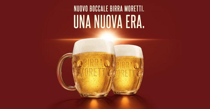 Boccali birra Moretti omaggio