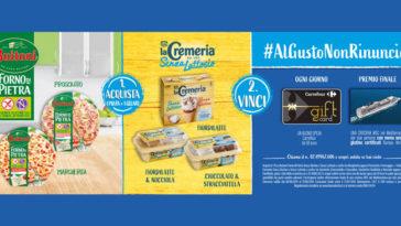 Buitoni & La Cremeria: vinci buoni spesa e crociere
