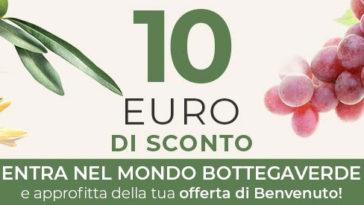 Buono sconto 10 euro Bottega Verde