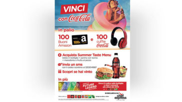 Chef Express e Coca‑Cola: vinci le cuffie wireless