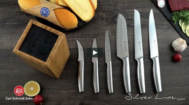 """Collezione coltelli Coop """"Tagliati per l'alta cucina"""""""