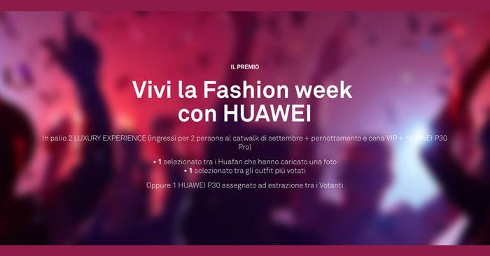 Concorso Fashionflair Huawei