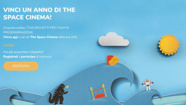 "Concorso ""The Space Cinema ti premia - Summer 2019"""