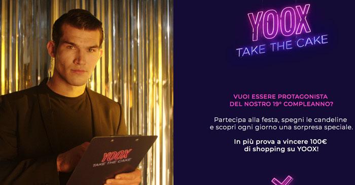 Concorso Yoox: vinci buoni da 100€