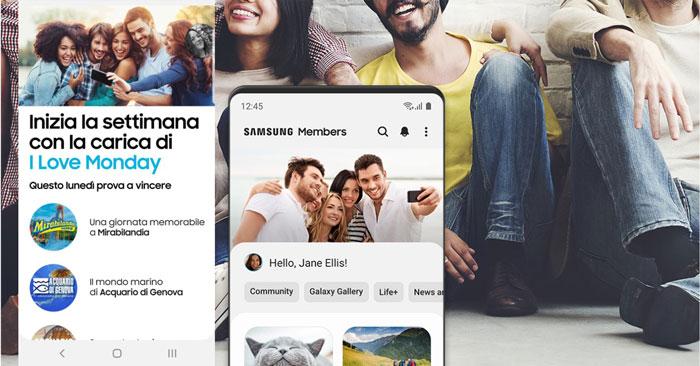 I love Monday: vinci con Samsung App