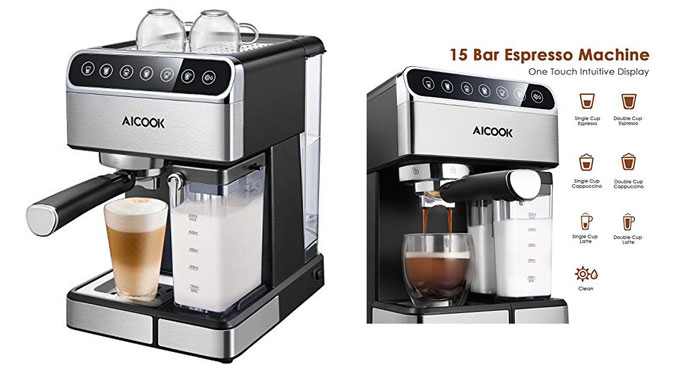 Macchina per Caffe Automatica: sconto Amazon