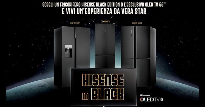 Vinci con Hisense in Black