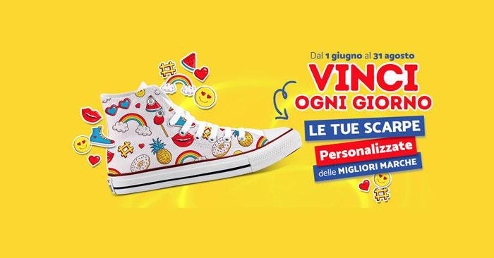 Vinci le tue scarpe personalizzate con Maxibon!