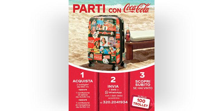 Vinci trolley Coca-Cola