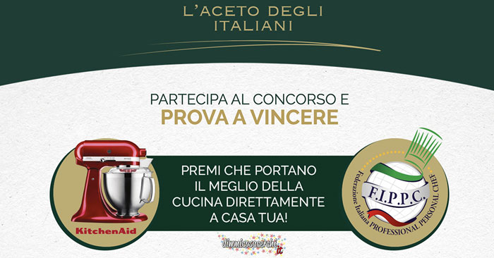Concorso Ponti, l'aceto degli italiani!