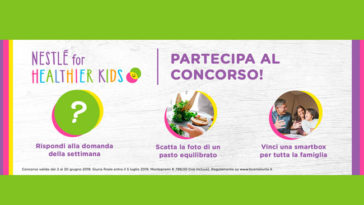 Concorso Nestlé For Healthier Kids