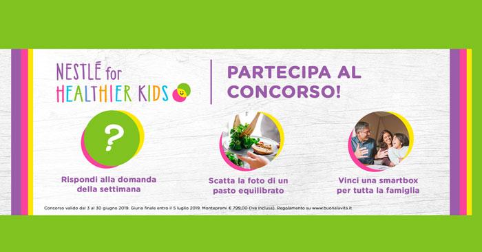 Concorso Nestlé For Healthier Kids