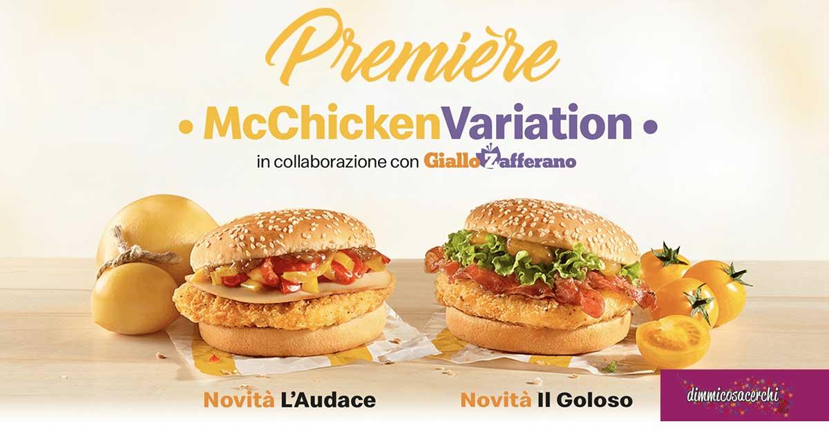 McChicken Variation Première omaggio