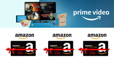 Amazon Prime Video ti regala 10€