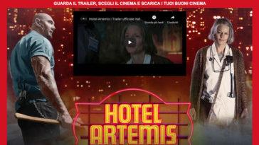 """Biglietti cinema omaggio per """"Hotel Artemis"""""""