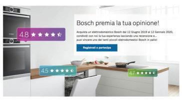 Bosch premia la tua opinione