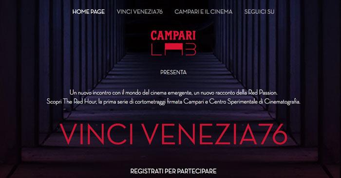 Concorso Campari Lab: vinci Venezia76