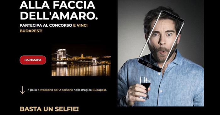 """Concorso Unicum selfie """"Alla faccia dell'amaro"""""""