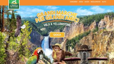 """Concorso """"Vola a Yellowstone"""" Isola dei Tesori"""