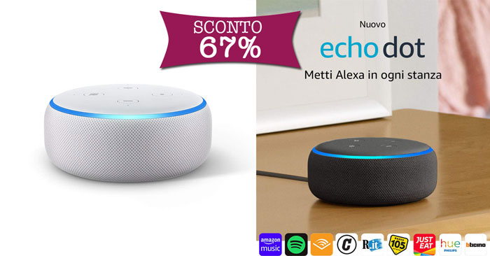 Echo dot scontato