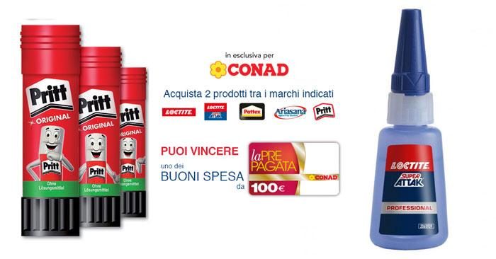 """Henkel """"Riempi il carrello"""" Conad"""