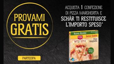 """Provami gratis"" diDr.Schär: pizza margherita"