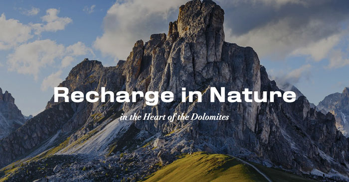 Recharge in Nature 2019
