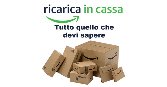 Ricarica in cassa Amazon