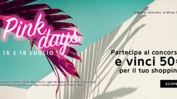 Privalia Pink Days: spedizione gratuita e vinci buoni da 50€