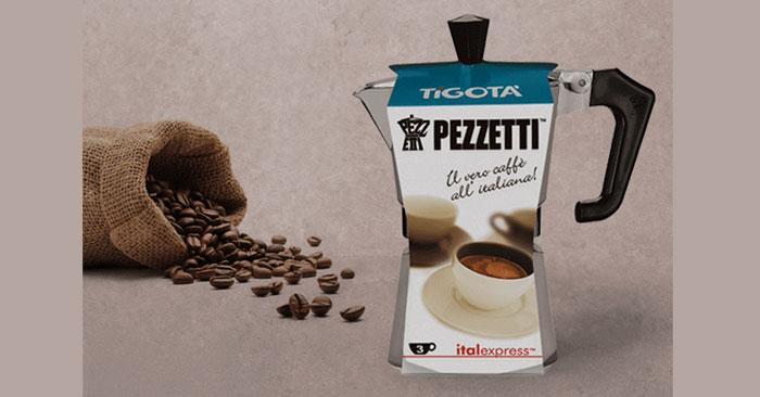 Caffettiera Pezzetti Tigotà