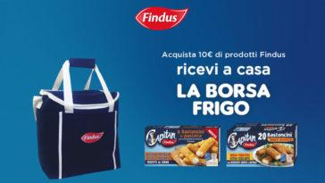 Findus borsa frigo omaggio