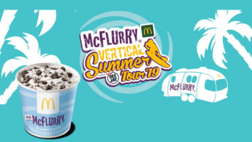Mini McFlurry con Vertical summer Tour 2019