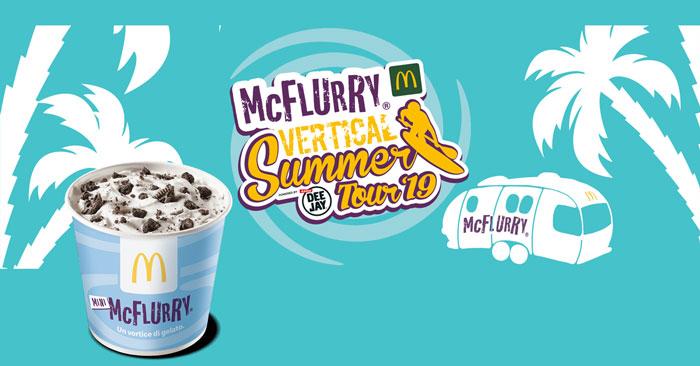 Mini McFlurry con Vertical summer Tour 2019