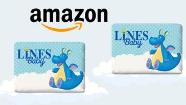 Pannolini Lines Baby in omaggio Amazon