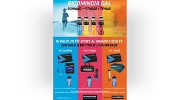 Powerade: vinci kit sport ogni giorno