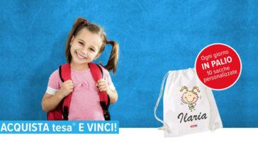 Tesa: vinci sacche personalizzate