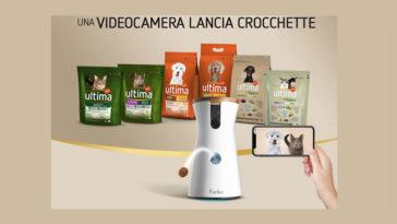 """Ultima: vinci videocamera lancia crocchette """"Furbo"""""""